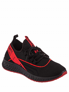 ISM007-021 black red  Кроссовки
